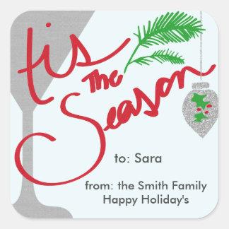 Tis the Season for Celebrations Sticker