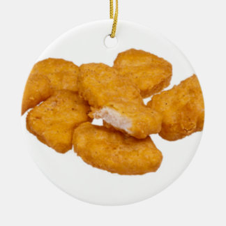 Tis the season for good nuggets ceramic ornament