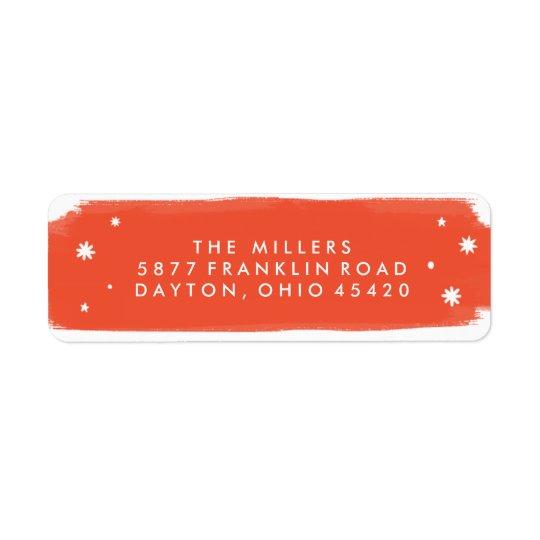 Tis the Season Holiday Address Label