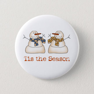 Tis the Season Holiday Button