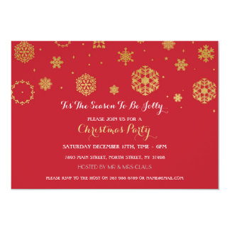 Tis The Season Holly Jolly Christmas Party Invite