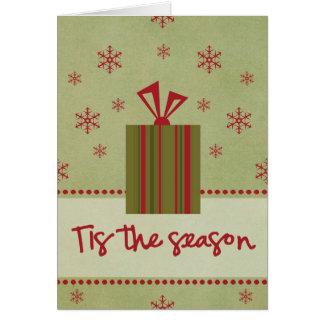 Tis the Season Note Card