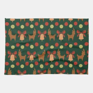 Tis the Season Pattern Kitchen Towel