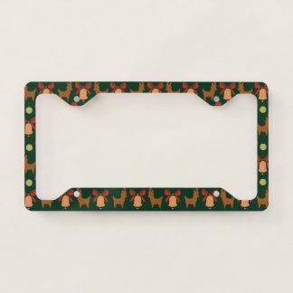 Tis the Season Pattern License Plate Frame