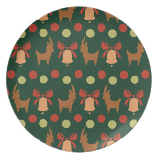 Tis the Season Pattern Plate