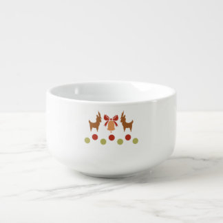 Tis the Season Pattern Soup Mug