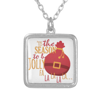 Tis The Season Silver Plated Necklace