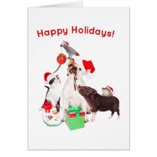 'Tis The Season To Get Along - Holiday Card