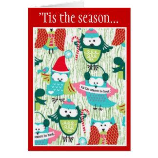 'Tis the Season to Hoot Card