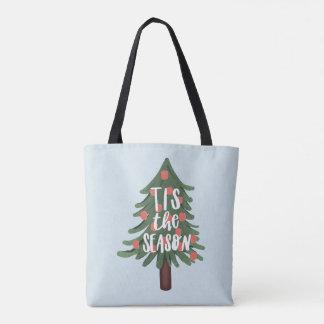 Tis the season tote bag