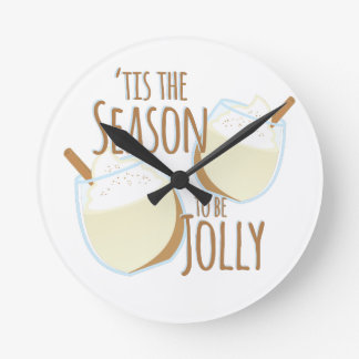 Tis The Season Wallclocks