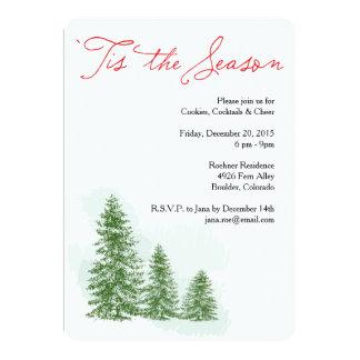 Tis the Season Winter Holiday Party Invitation