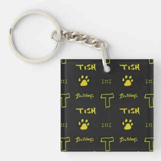 Tishomingo Bulldogs key chain