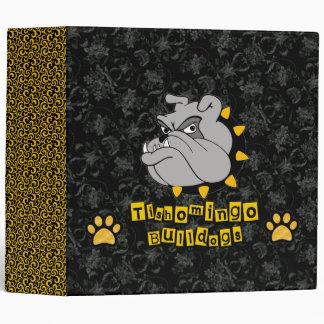 Tishomingo Bulldogs Vinyl Binders