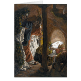 "Tissot's ""The Adoration of the Magi"" Card"