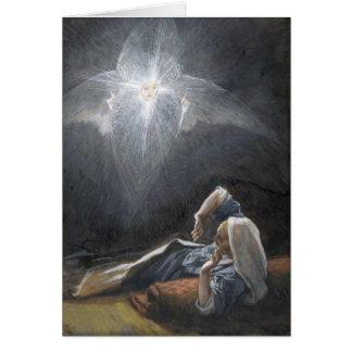"Tissot's ""The Vision of Saint Joseph"" Advent Card"