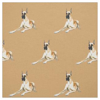 Tissu d'art de chien de great dane