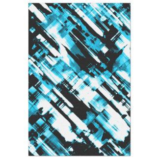 Tissue Paper Blue Black abstract digitalart G253