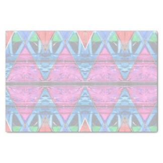 Tissue Paper--Pink Triangle Tissue Paper