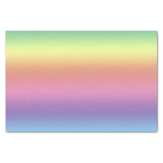 Tissue Paper - Rainbow Stripes (hrz)