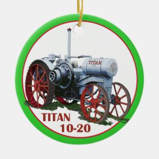 Titan 10-20 Ornament