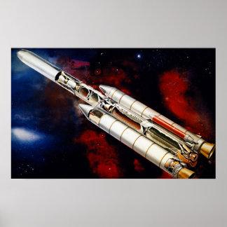 Titan 34-D Launch Vehicle Print