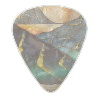 """Titan Eclipse"" custom guitar picks by Clayton"