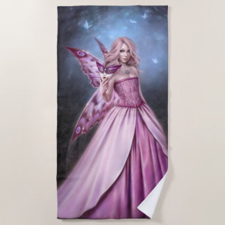Titania Butterfly Fairy Queen Beach Towel