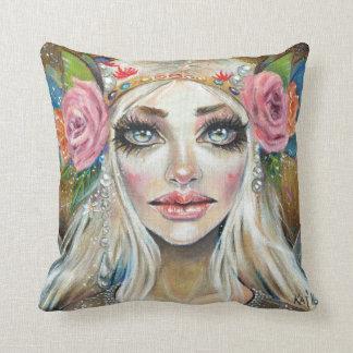 Titania Queen of the Faeries Original Art Pillows