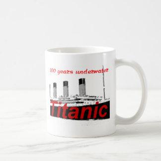 Titanic: 100 Years Underwater Basic White Mug