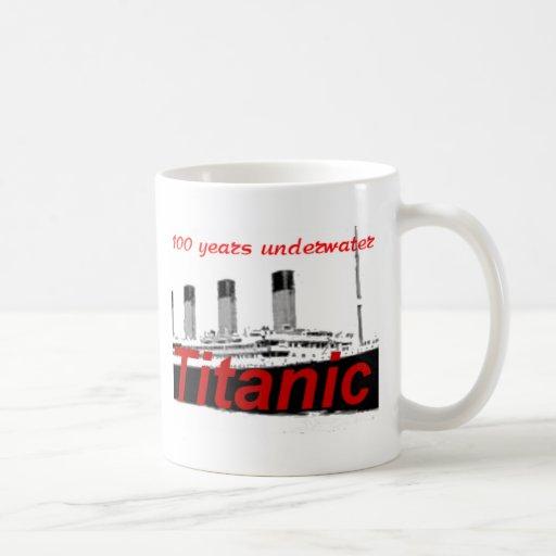 Titanic: 100 Years Underwater Mugs