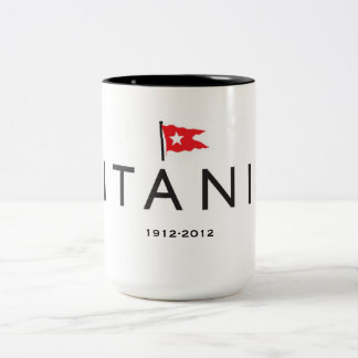 Titanic 100th anniversary Mug with WSL logo