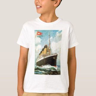 Titanic at Sea Kids T T-Shirt