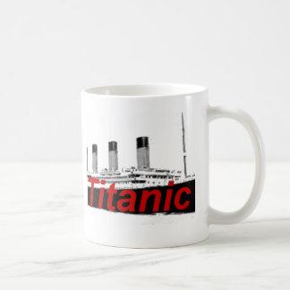 Titanic Basic White Mug