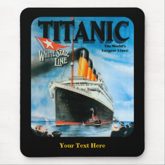 Titanic- Custom Mouse Pad