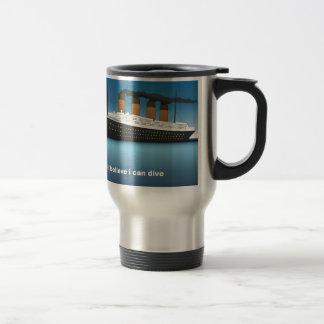 titanic divine travel mug