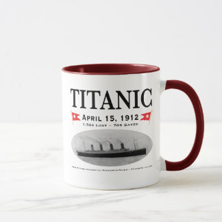 Titanic Ghost Ship Coffee Mugs, Steins, Drinkware Mug