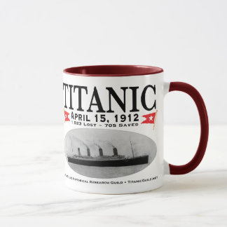 Titanic Ghost Ship: Kitchen: Mug