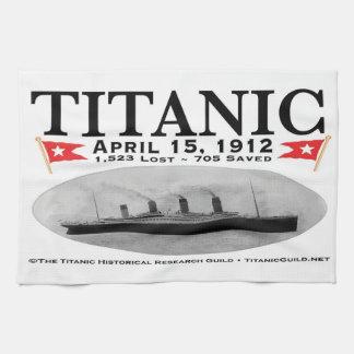 Titanic Ghost Ship Kitchen Towel