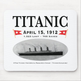Titanic Ghost Ship Mouse Pad