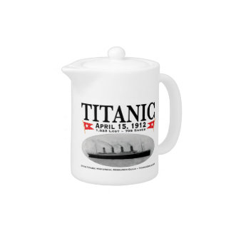 Titanic Ghost Ship Teapot