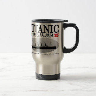 Titanic Ghost Ship Travel Mug (stainless steel)