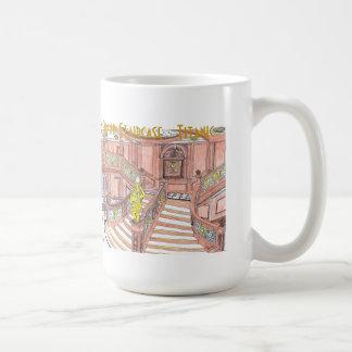 Titanic Grand Staircase mug