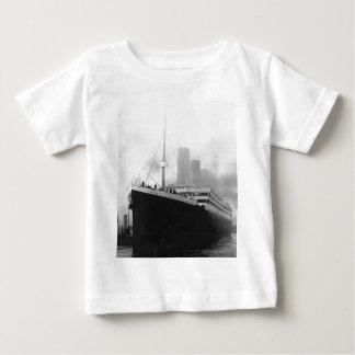 Titanic in dock in Southampton Baby T-Shirt