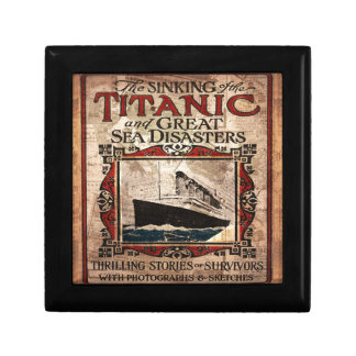 Titanic Keepsake Boxes