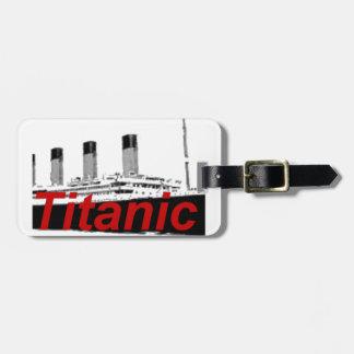 Titanic Luggage Tags