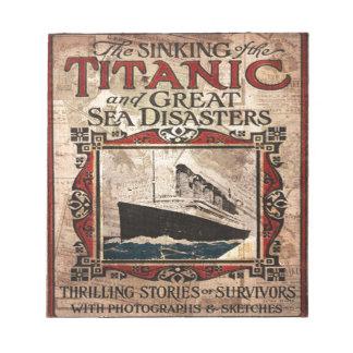 Titanic Notepad
