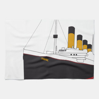titanic original kitchen towel