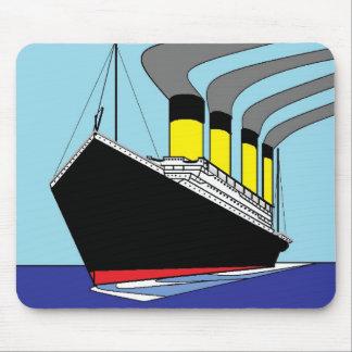 Titanic sailing mousepad