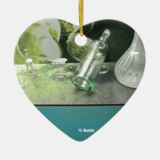 Titanic Salvaged Items Ceramic Heart Ornament